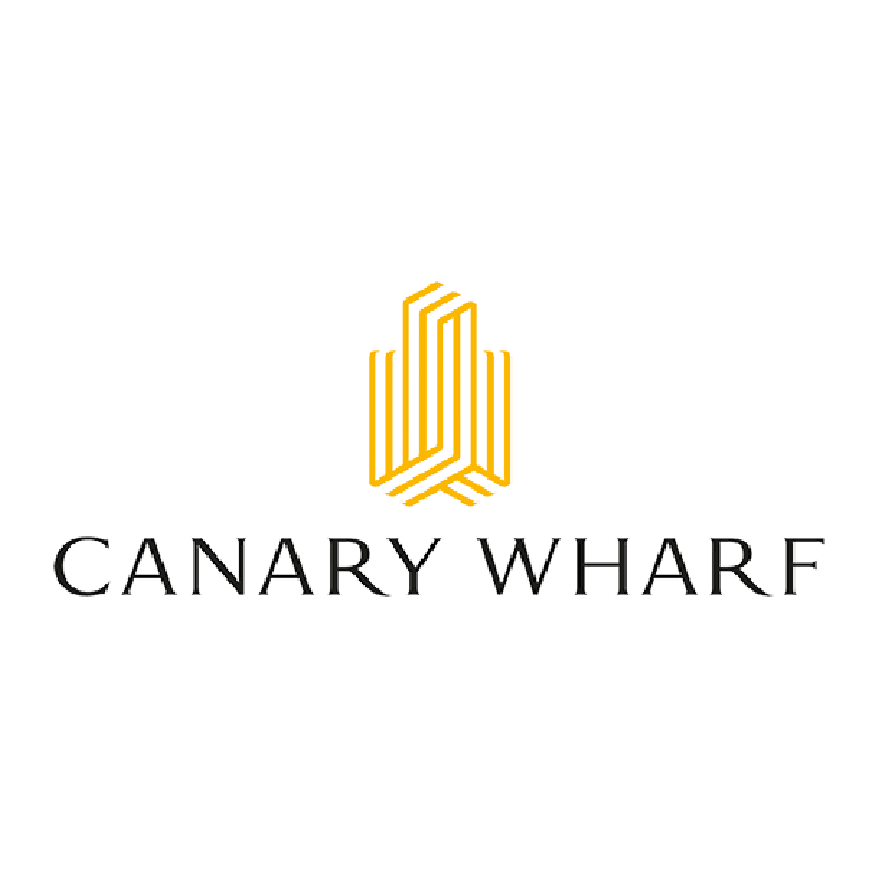 Logo for Canary Wharf Group