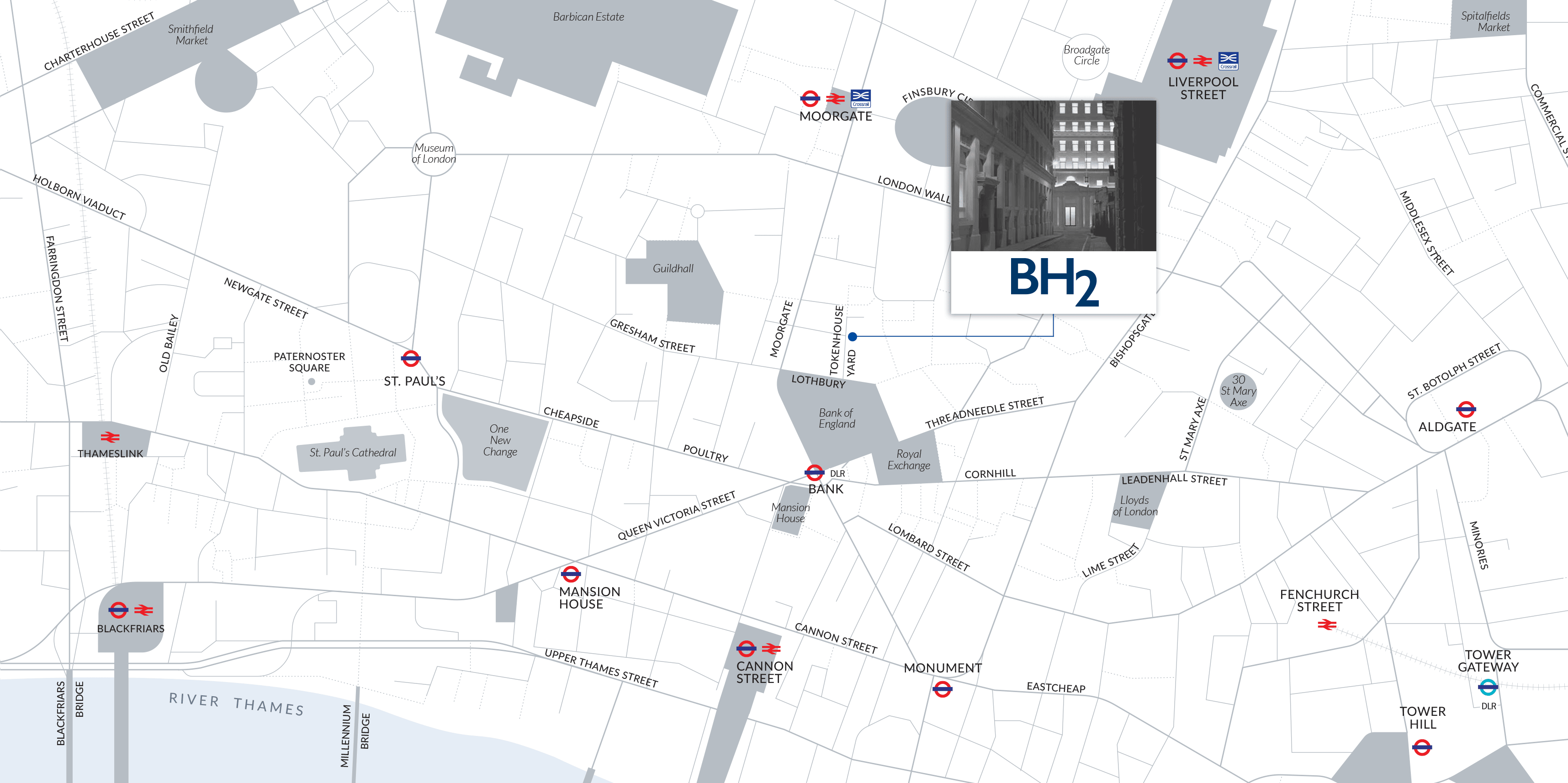 Map of BH2's location